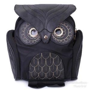 Owl Shoulder Satchel